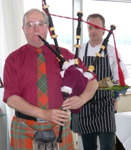 The Piping Of The Haggis